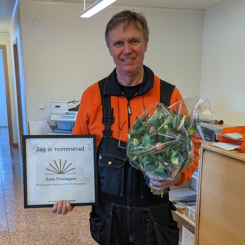 Tomas - Nominerad årets företagare